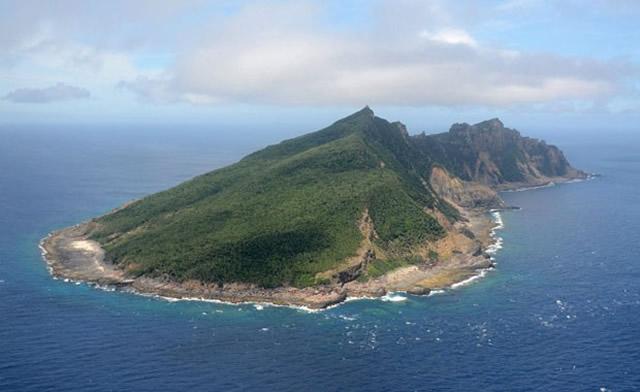 Foto; Reprodução (globo.com - AP de 2011) Ilhas disputadas por Japão e China