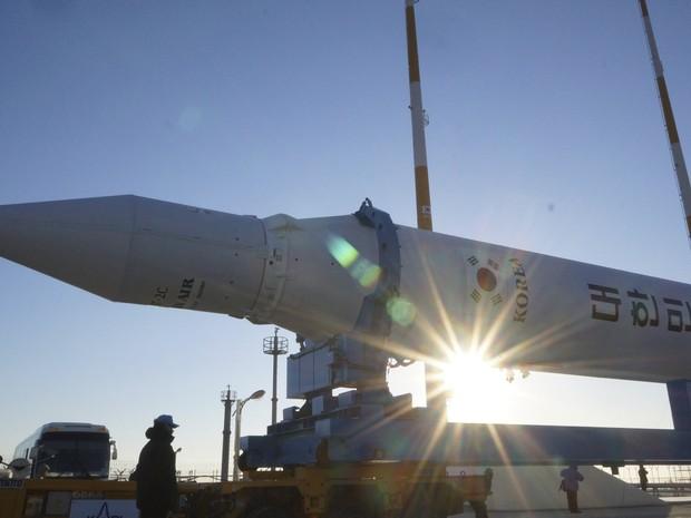 Reprodução: globo.com (Reuters/Korea Aerospace Research Institute)