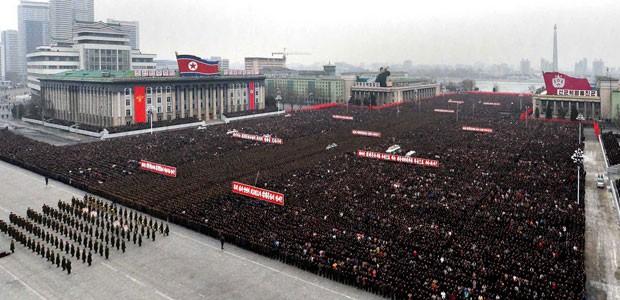 Reprodução: globo.com ( KCNA /AFP)