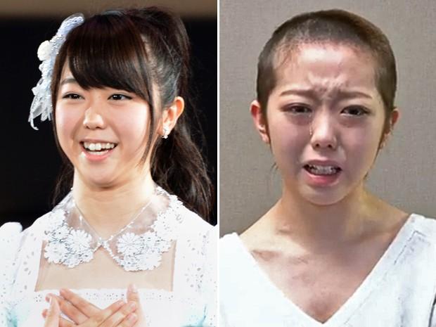 Reprodução: globo.com (AFP/Toshifumi Kitamura e AFP/AKB48/YouTube)