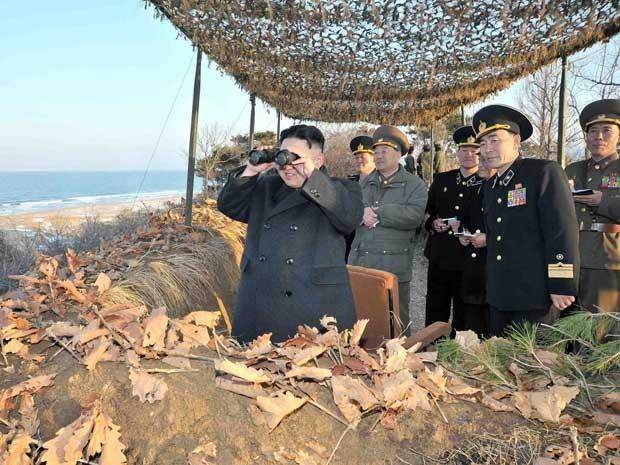 Reprodução: globo.com (KCNA / Via Reuters)