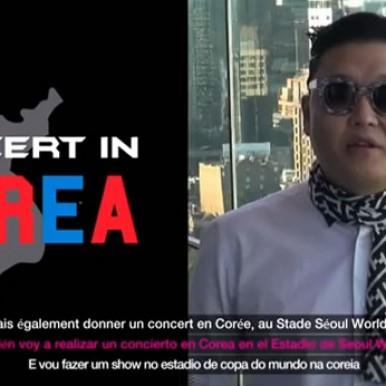 Psy anuncia o lançamento de nova música (foto: reprodução)