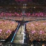 milhares de pessoas comparecem ao Psy Concert in Korea