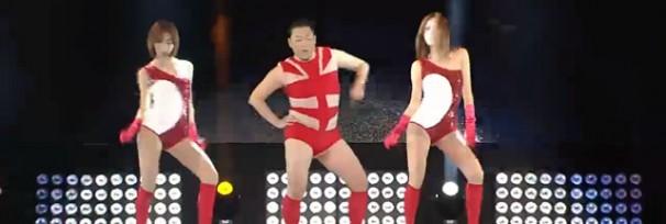 Psy dançando Single Ladies da Beyonce