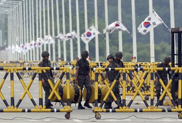 Reprodução: globo.com (Lee Jin-man/AP)