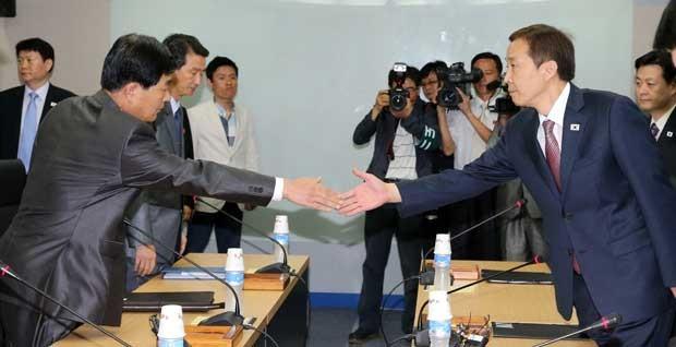 Reprodução: globo.com (KOREA POO/ AFP)