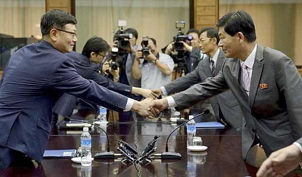 Reprodução: globo.com (Yonhap / AP Photo)