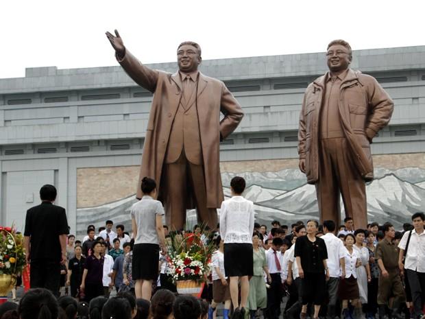 Reprodução: globo.com (Jon Chol Jin/ AP)