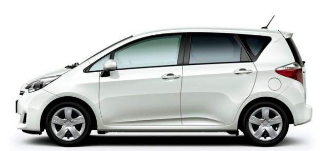 Reprodução: Autoforcars - Toyota Ractis que sofrerá recall