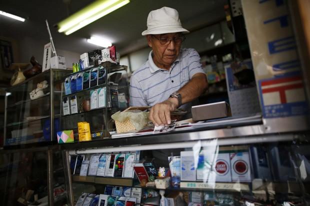 Reprodução: globo.com (Issei Kato/Reuters)