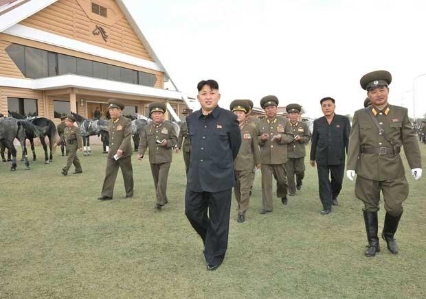 Reprodução: globo.com (KCNA VIA KNS/ AFP)
