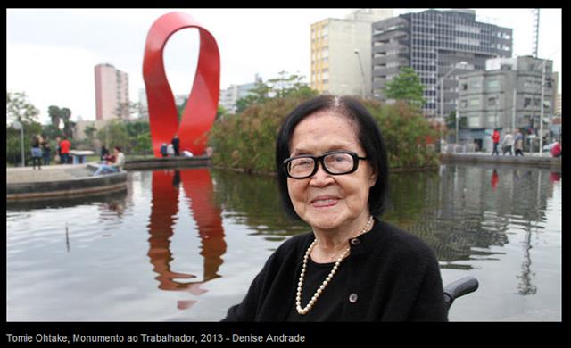 Reprodução: Veja (Denise Andrade) - Obra inaugurada em outubro, Monumento aos Trabalhadores, em Santo André