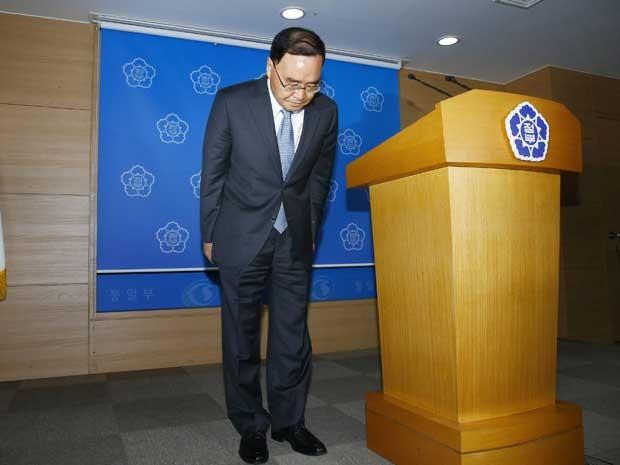 Reprodução: globo.com (Lee Sang-hak / Yonhap / via Reuters )