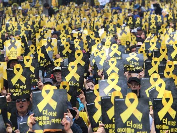 Reprodução: globo.com (Ahn Young-joon / AP Photo)