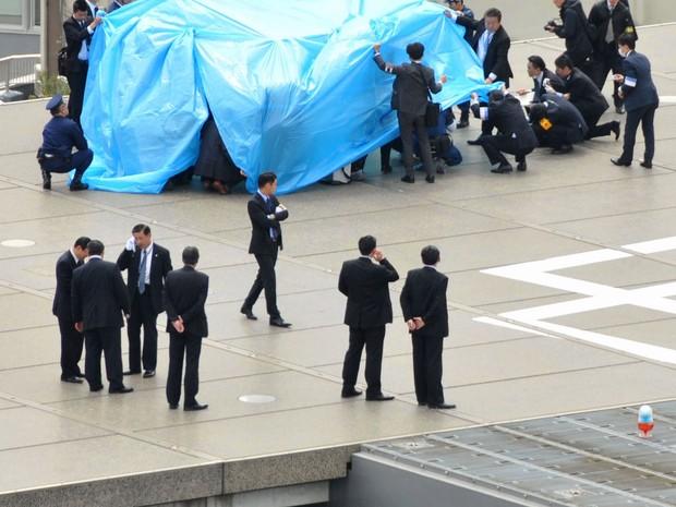 Reprodução: globo.com (Reuters/Kyodo News)